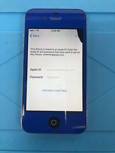 Apple iPhone 4s - 16GB - Blue (custom) -  (Unlocked) A1387 (CDMA + GSM)
