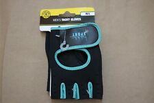 GOLDS GYM Men's Tacky Gloves Black Weight Lifting M/L Medium