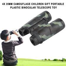 Magnification 4X 35mm Camouflage Children Gift Binocular Telescope Toy #K