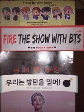 BTS Slogan Banner Jungkook Group V Jin Suga Rapmon KPOP