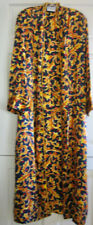MARY McFADDEN VINTAGE COLORFUL LONG ROBE