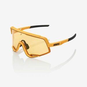 100% Percent Cycling Sunglasses  Glendale - Soft Tact Mustard - Yellow Lens