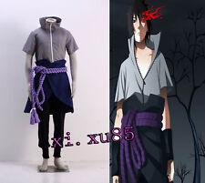 Sasuke Uchiha From NARUTO Cosplay Costume Naruto Uchiha Sasuke Cosplay CUSTOM