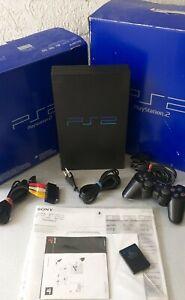 Sony Playstation 2 Console Ps2 Fat + Box