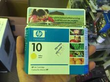 C4842a HP 10 Yellow Ink Cartridge sold as is New Sealed Box Part Not Working