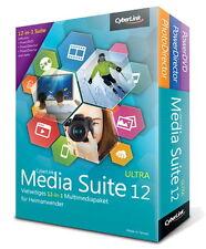 CyberLink Media Suite 12 Ultra - PowerDirector + PowerDVD - LIFETIME - [ESD]