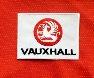 VAUXHALL CLASSIC BRITISH CAR ASTRA CORSA VIVA BADGE IRON SEW ON PATCH