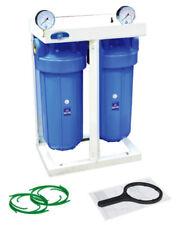 """2 etapa 10"""" con calibre 2 X toda la casa Sistema de filtro de agua 1"""", 10""""x4,5"""" hhbb 10 A"""