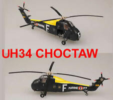 Easy Model 1/72 France Navy Marine UH-34 CHOCTAW Helicopter Plastic Model #37013