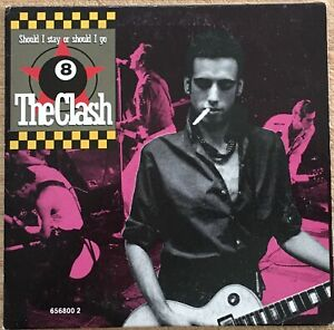 The Clash & Big Audio Dynamite II - Promo EP. CD. 4 Tracks. 1990.