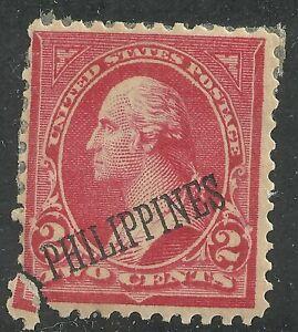 U.S. Possession Philippines stamp scott 214 - 2 cent issue of 1899 - x