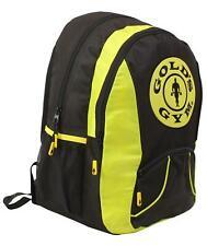 Golds Gym Contrast Workout Training Travel Fitness Backpack Rucksack Sports Bag