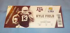 LSU Tigers vs. Texas A&M 2016 Football Game Ticket Mike Evans