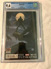 THE ULTIMATES #3   Vol. 2   CGC 9.6   Tim Sale 1:25 Black Panther Variant 2016