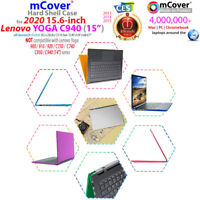 """NEW mCover® Hard Case for 15.6-inch Lenovo Yoga C940 (15"""") 2in1 Laptop Computer"""