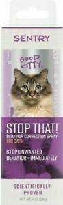 SENTRY Stop That! Behavior Correction Spray for Cats 1 oz.