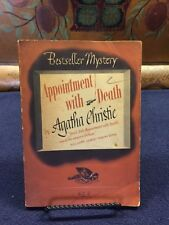 Bestseller Mystery No. B58 Appointment With Death Agatha Christie Spivak Wartime