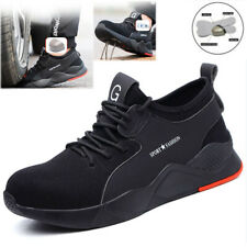NEW TRAINERS STEEL TOE CAP SAFETY PUMPS MEN WOMEN WORK HIKING BOOTS SHOES SIZE