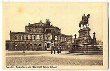 F 155 -  Dresden Opernhaus Standbild König Johann