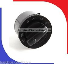 Bouton Commande eclairage reglage phare Vw Golf 5