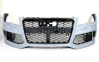 Für- Audi A7 4G RS7 Look Stoßstange 11-14 Wabengrill Bumper Kühlergrill Spoiler
