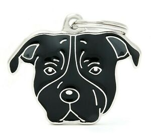 Staffordshire Terrier / Amstaff Dog ID Tag (80) - Engraved FREE-Personalised