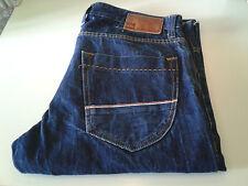 QUIKSILVER jeans slim fit denim scuro 16 once W34 (taglia 48)