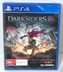 New & Sealed Darksiders 3 for Playstation 4 PS4 - Free Postage