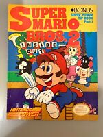 Super Mario Bros. 2 Inside Out Part 1 Nintendo Power Magazine RARE!