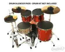 More details for rocksolid drum practice pads - drum silencer pads  choose your sizes - 8 pad set