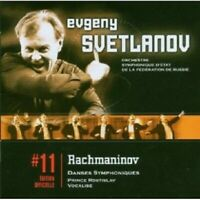 E.SVETLANOV - DANSES SYMPHONIQUES/PRINCE ROSTISLAV/VOCALISE CD NEU RACHMANINOFF
