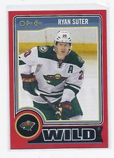 14-15 2014-15 O-PEE-CHEE RYAN SUTTER RED PACK REDEMPTION 183 MINNESOTA WILD