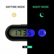 2 In 1 Car Digital Clock Thermometer Automobiles Decor Interior Accessories