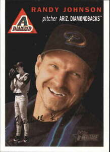 Randy Johnson 2003 Heritage Black #80 #80b SP Arizona Diamondbacks BX H1C-80