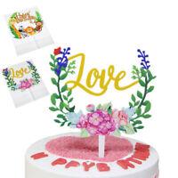 Kids Birthday Party Cake Topper Giraffe Lion Acrylic Animal Zebra Safari Cupcake