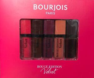 Bourjois  Lipstick Velvet  Rouge Edition  Gift Set of 5