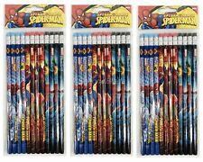 Marvel Spiderman Pencils School stationary Supplies 36pc