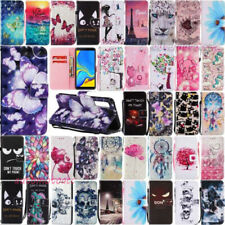 Flip Leather Case Cover Wallet Card For Samsung Galaxy A6 A750 A8 Plus A9 2018