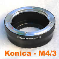 KONICA AR LENS MICRO 4/3 m4/3 LENS ADAPTER BlackMagic Design MFT Mount Camera