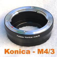 KONICA AR LENS MICRO 4/3 m4/3 LENS ADAPTER BlackMagic Design MFT Mount Camera