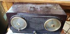 New ListingVintage Wood Rca Victor Table Top Radio