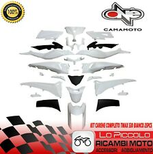 KIT CARENE BIANCO NERO VERNICIATE YAMAHA TMAX T-MAX 530 2012 2013 2014 25pz
