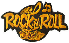 Patche écusson Rock 'n' Roll thermocollable patch DIY brodé Rocker