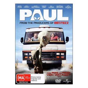 Paul DVD  Brand New Sealed Region 4 - Simon Pegg, Nick Frost`- Free Post
