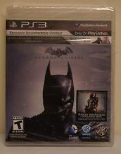 New! Batman: Arkham Origins (Sony PlayStation 3, 2013)[Includes Deathstroke DLC]