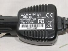 New listing Oem Garmin Gtm25 Dc Car Charger Power Cord cable nuvi 200 265wt 255w 1300 1350