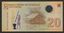 2007 (12) NICRAGUA 20 CORDOBA NOTE UNC