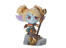 "LOL League of Legends IronAmbassador Poppy Figure Decoration Statue Toy Gift 5"""
