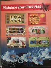 2016 Indian Stamp - Miniature Sheet Pack - MNH - Indian Post