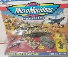 MicroMachine Military Tank Panther Tiger Mustang Special Forces World War II 2